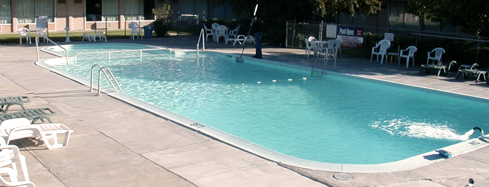 Cool Off In Our Sparkling Outdoor Pool